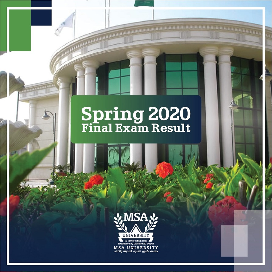 Spring 2020 Results For the 2nd trial Online Exams and final Year Exams