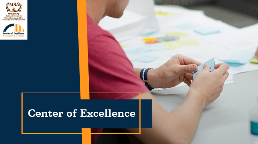 MSA University - About Center of Excellence