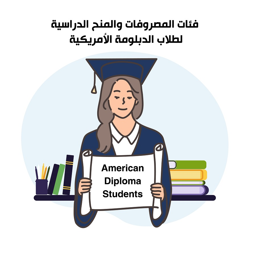 American Diploma <strong>Students</strong><br /> فئات المصروفات والمنح الدراسية لطلاب الدبلومة الأمريكية