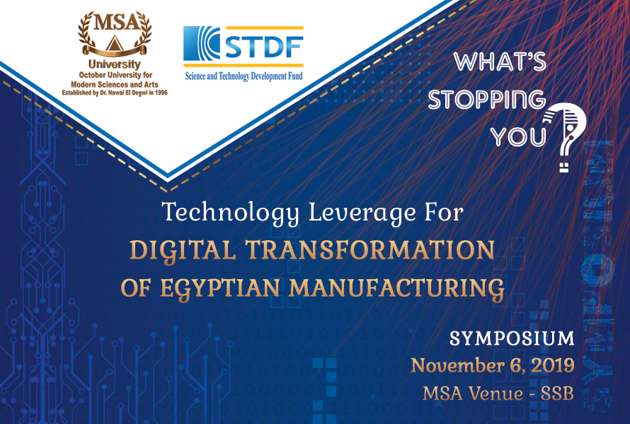 MSA University - Digital transformation symposium