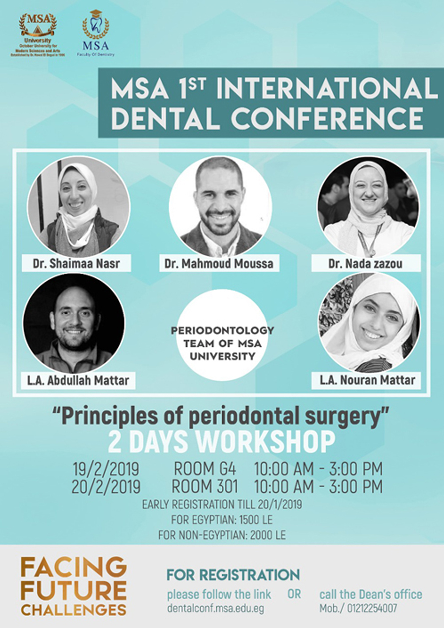 1st International Dental Conference Workshops