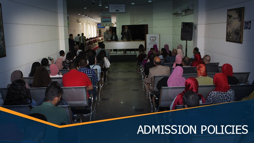 MSA University - Admission Policies