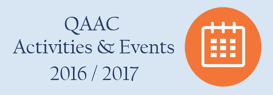 MSA University - QAAC Activities 2016-2017
