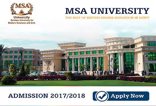MSA University - Tuition Fees 2017 - 2018