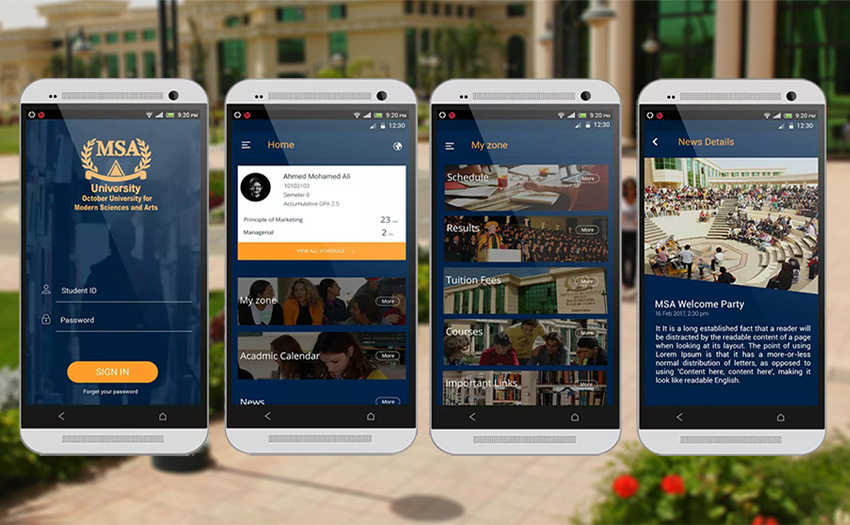 MSA Official Mobile Application