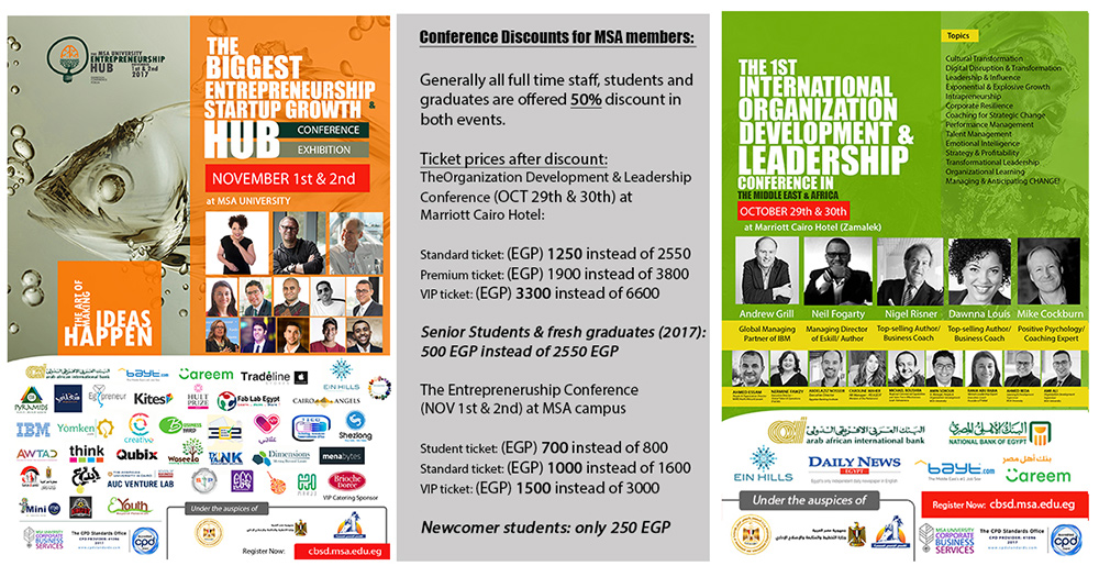 Leadership & Entrepreneurship Conferences