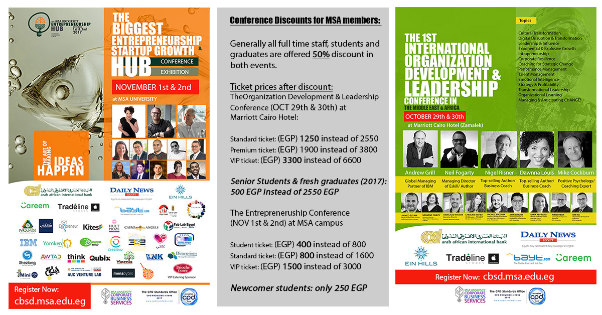 Leadership & Entrepreneurship Conferences