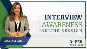 Interview awareness online session