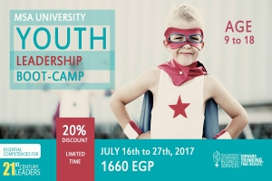 MSA University Youth Leadership Boot - Camp