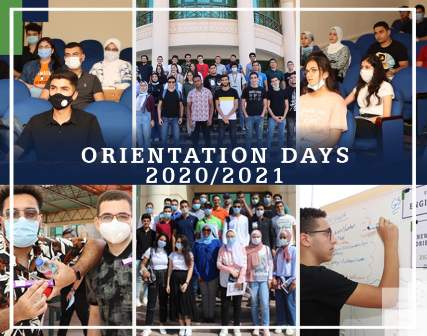 Newcomers' Orientation Days 2020 - 2021