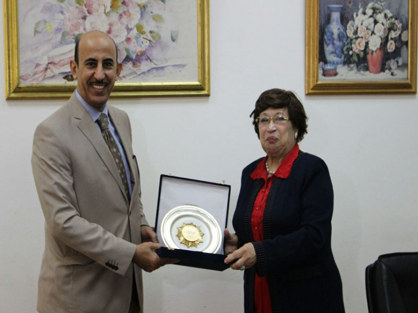 Cultural attache for Kingdom of Saudi Arabia Embassy visit to MSA University