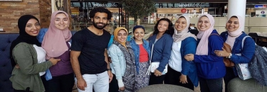 MSAians with Mohamed Salah in the UK