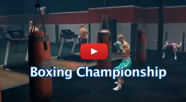 Boxing competition at the roman theater