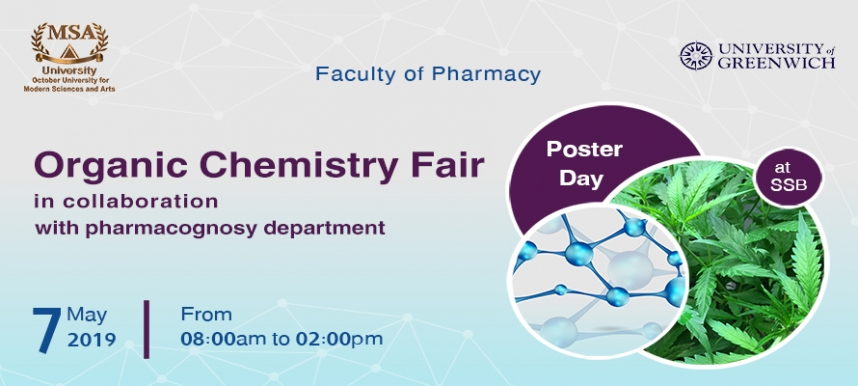 Organic Chemistry Fair in Collaboration with pharmacognosy dep.