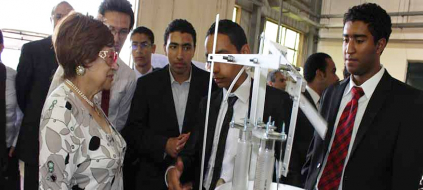 Graduation Projects Fair for MSA Engineering