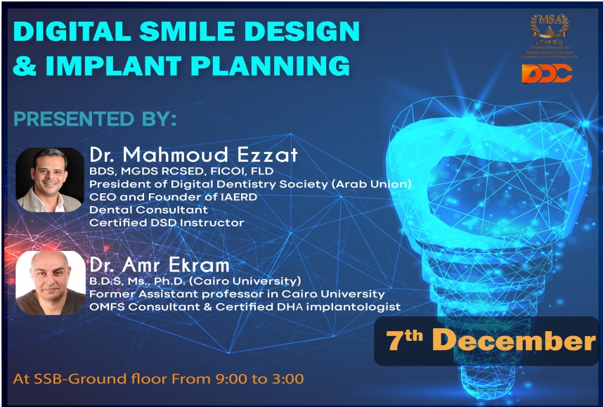 Digital smile design and implant planning