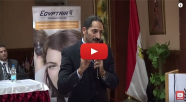 Egyptair seminar at MSA university