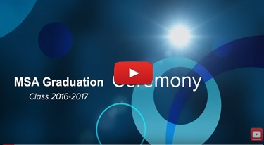 MSA Graduation Ceremony 2016/2017
