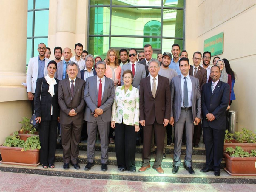 Minister of Environment visit