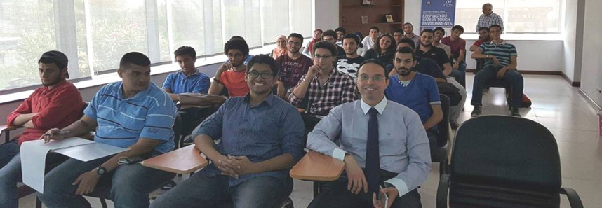 Engineering students in Motorola- Systel