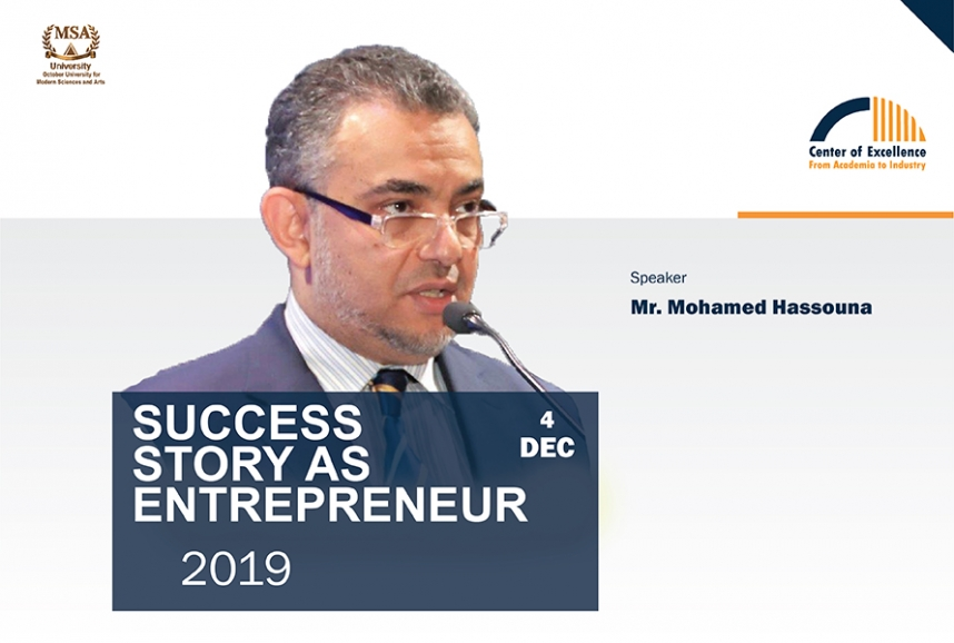 Success Story as Entrepreneur - Mr. Mohamed Hassouna