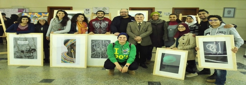 "MSA students show their creativity at ""Ibdaa'"" competition"