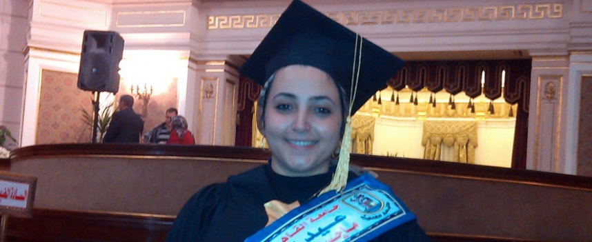 Faculty of Languages MSA Staff Member Awarded the Best MBA From Cairo University