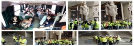 Architecture, Communication and Interior Design Field Trip to Grand Egyptian Museum