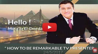 How To Be Remarkable TV Presenter