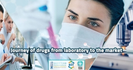 Journey of drugs from laboratory to the market