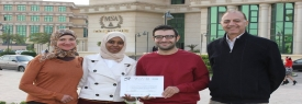ESE Graduation Project won The First Place Award at IEEE ICECS 2015 International Conference