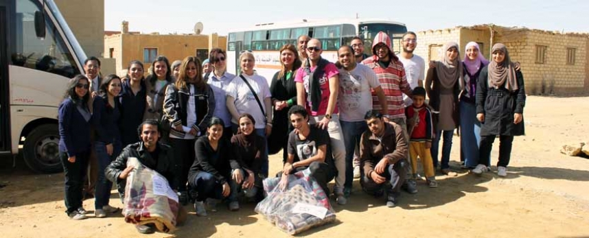 MSAians Volunteer in Fayoum