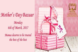 Mothers day bazaar